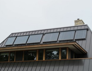 Family Home Construction Green Energy